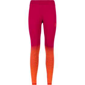 La Sportiva Patcha Leggings Femme, beet/lily orange